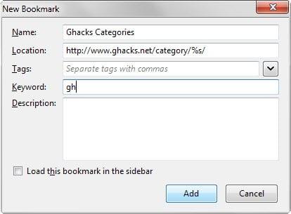 dynamic bookmarks