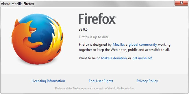 Why the Firefox 38.0.6 update won't hit most users