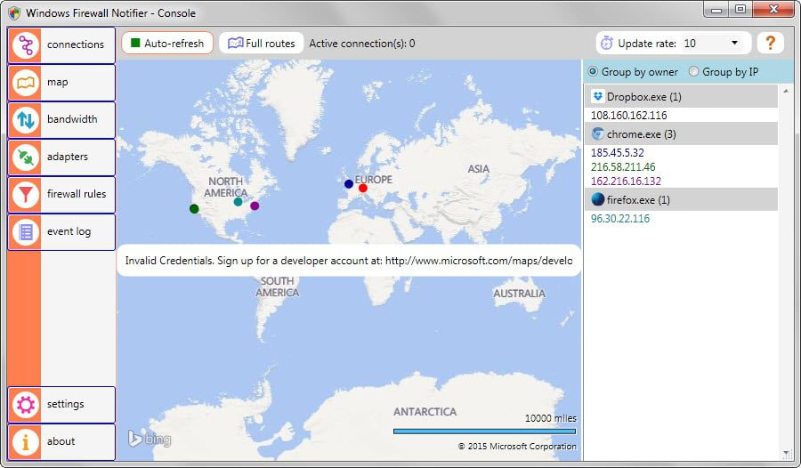firewall world map
