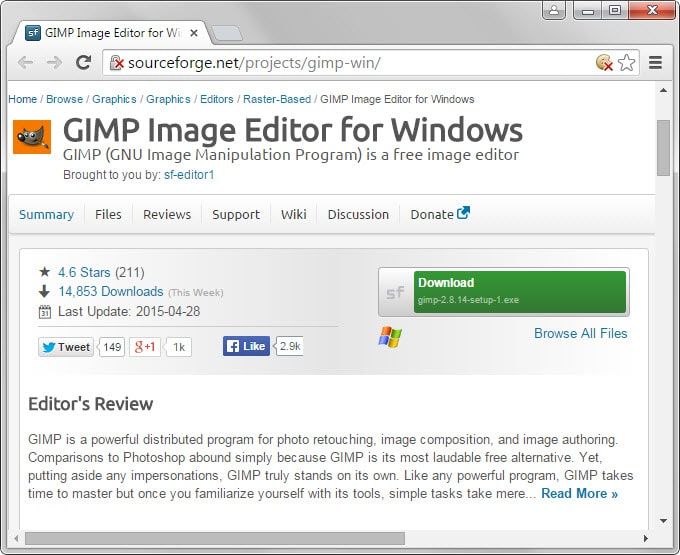 gimp clean download