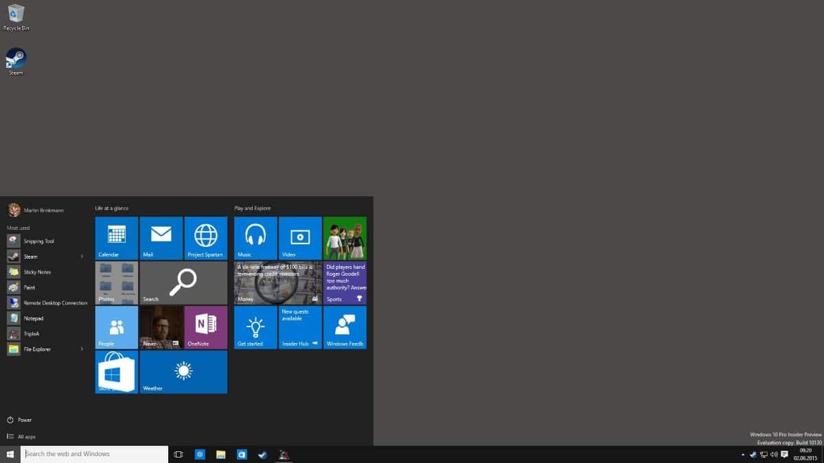 windows 10 latest information
