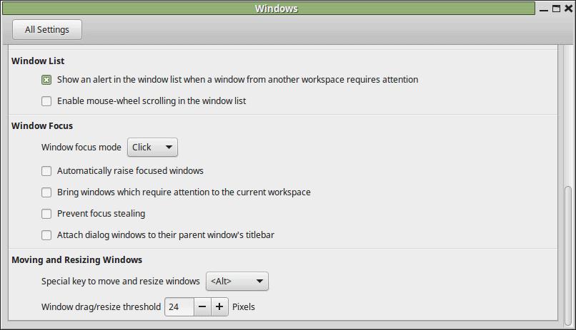 windows customization linux mint 2