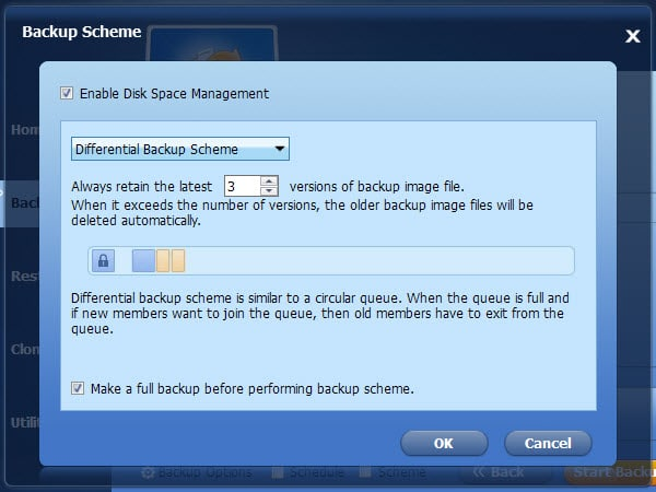 disk management schemes
