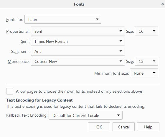Firefox 41: Mozilla modifies how icon fonts are handled by the browser