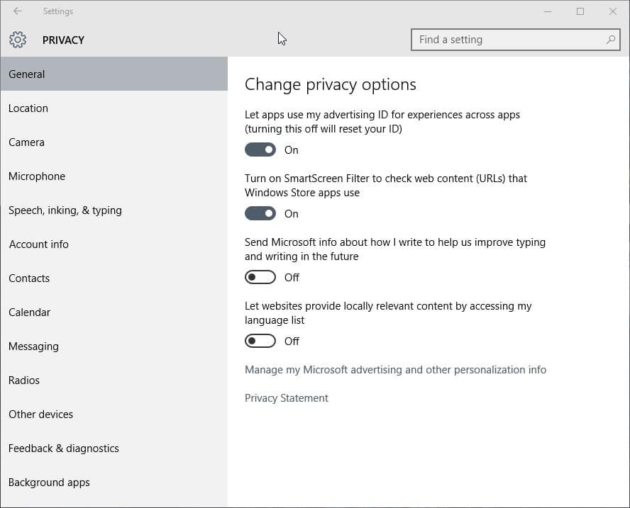 Windows 10 and Privacy - gHacks Tech News