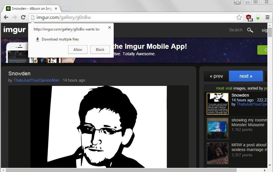 chrome image downloader