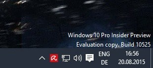 How to remove Evaluation Copy watermark in Windows 10