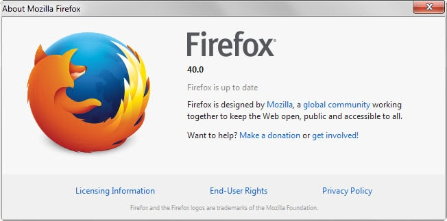 Firefox 40: Find out what is new