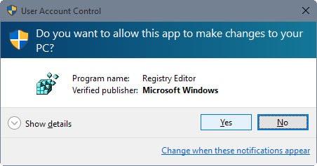 user account control windows 10