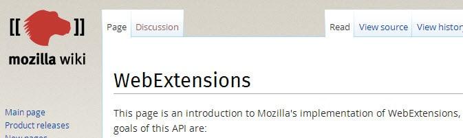 webextensions
