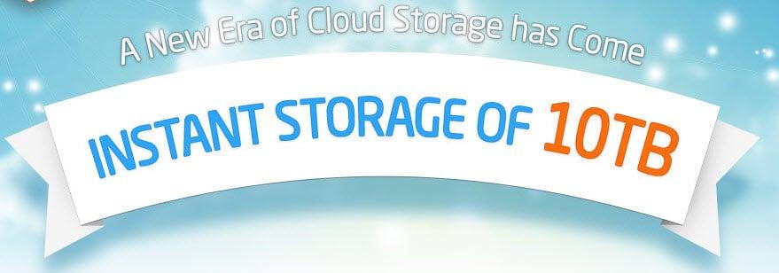 10tb free storage