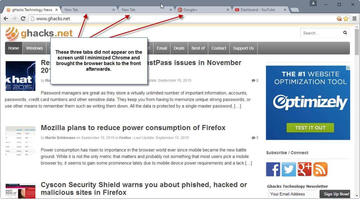 Google Chrome sometimes freezes on Windows 10 - gHacks Tech News