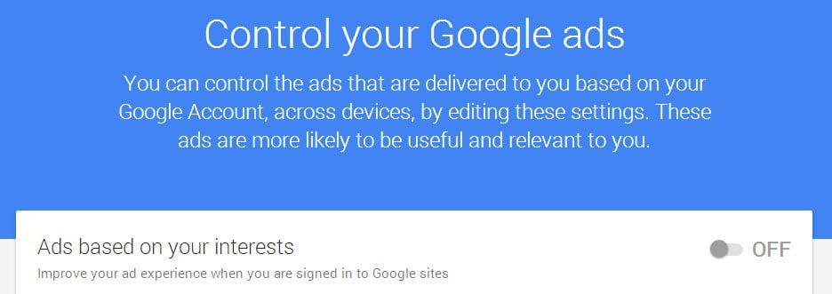 Google allows companies to target you based on your email address