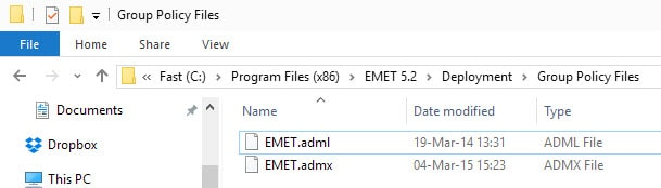 emet group policy