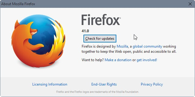 Firefox 41: Find out what is new - gHacks Tech News