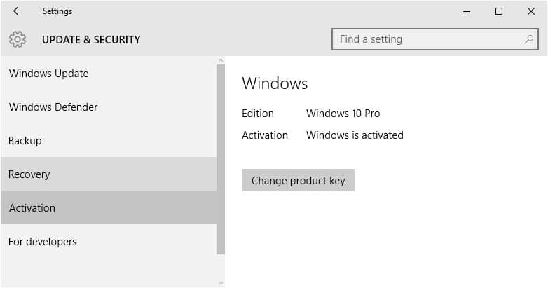 Microsoft's official Windows 10 Activation Guide