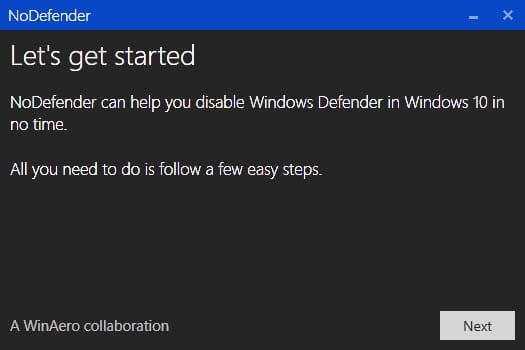cant activate windows 10 defender