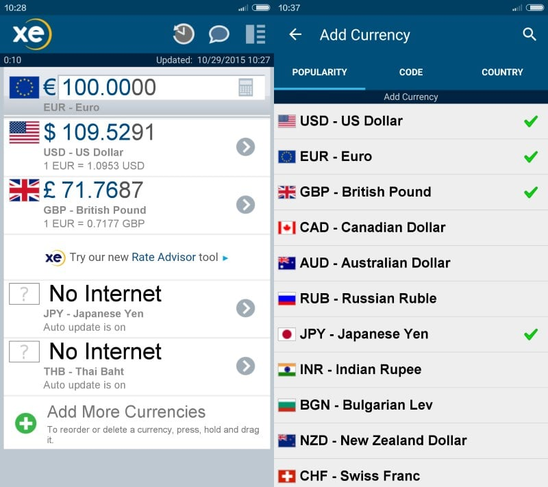 Convert Currency Without Internet With