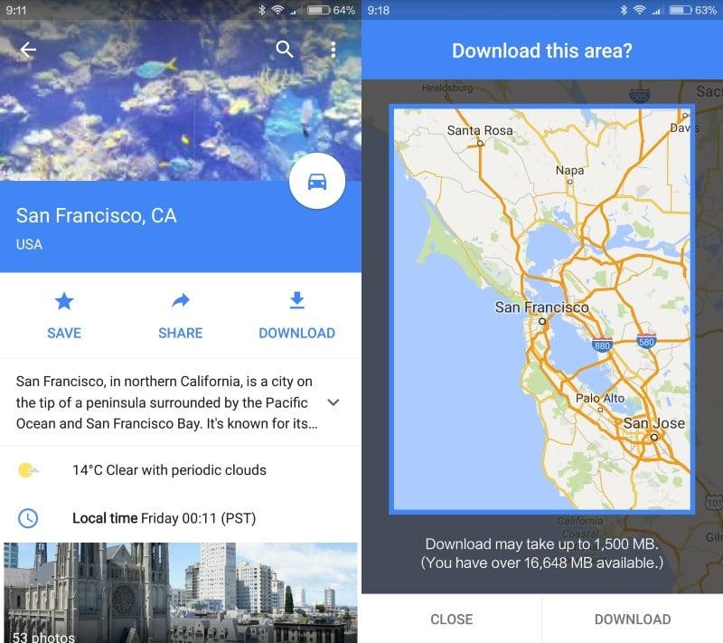 google maps download
