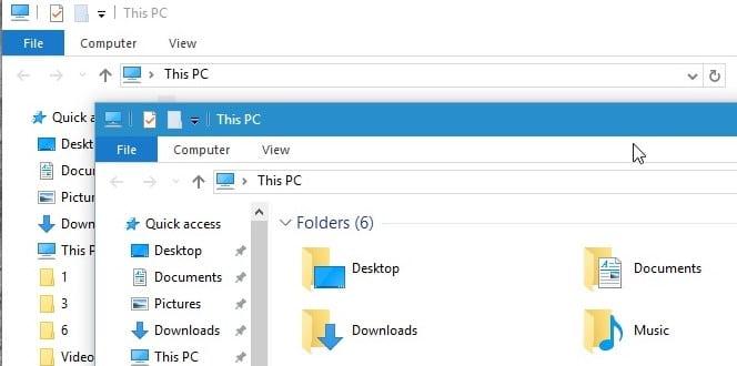 windows 10 titlebar colors