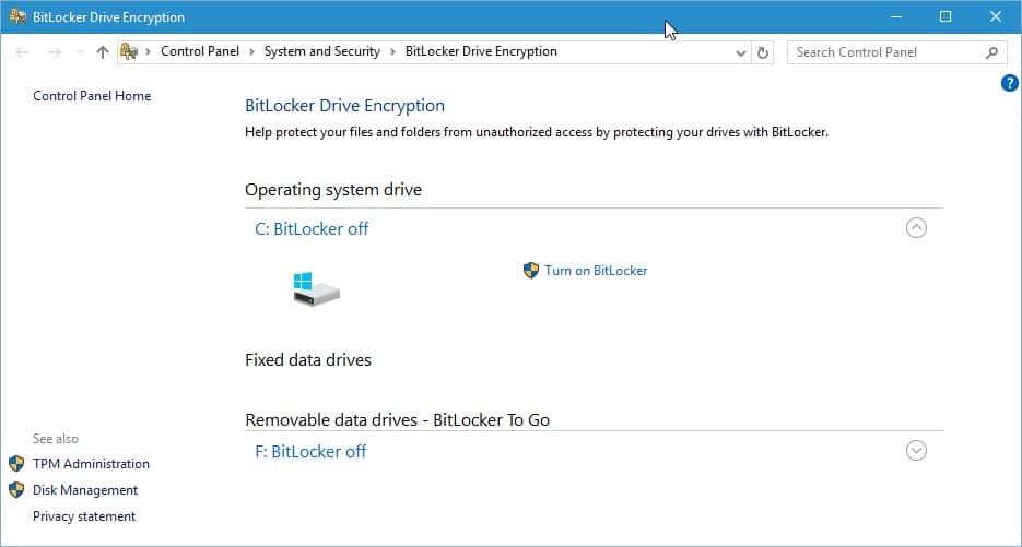 Bitlocker Encryption Not 100% Secure After All