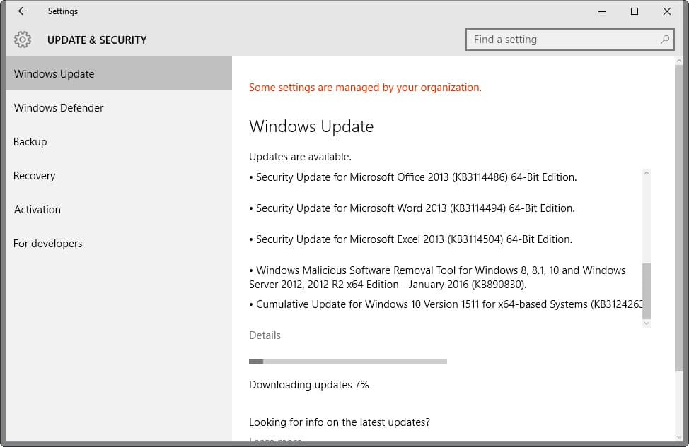 Microsoft Security Bulletins For January 2016