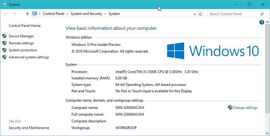 How To Change The Name Of A Windows 10 Computer Ghacks Tech News