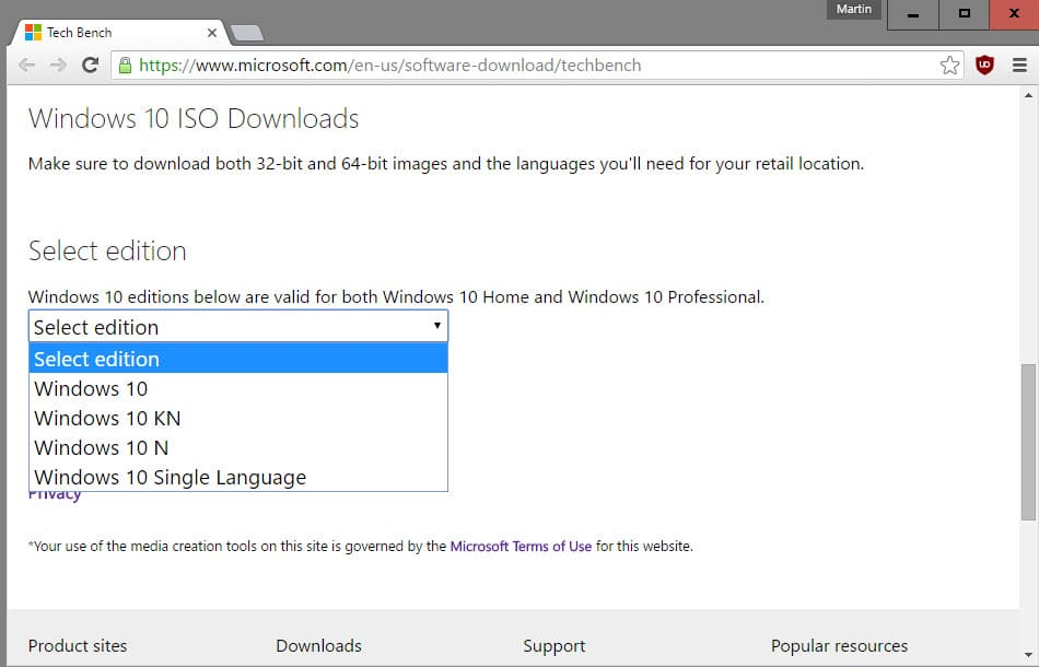 download windows iso