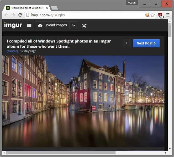 download windows spotlight