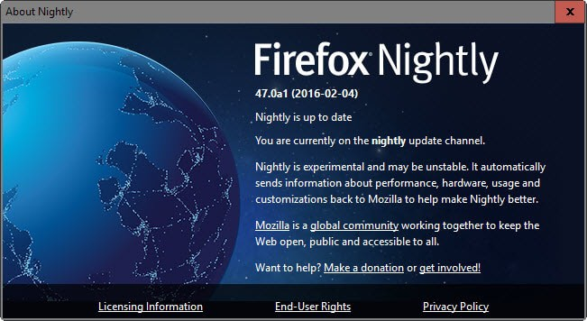 Firefox gets a variable release schedule