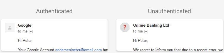 gmail authentication