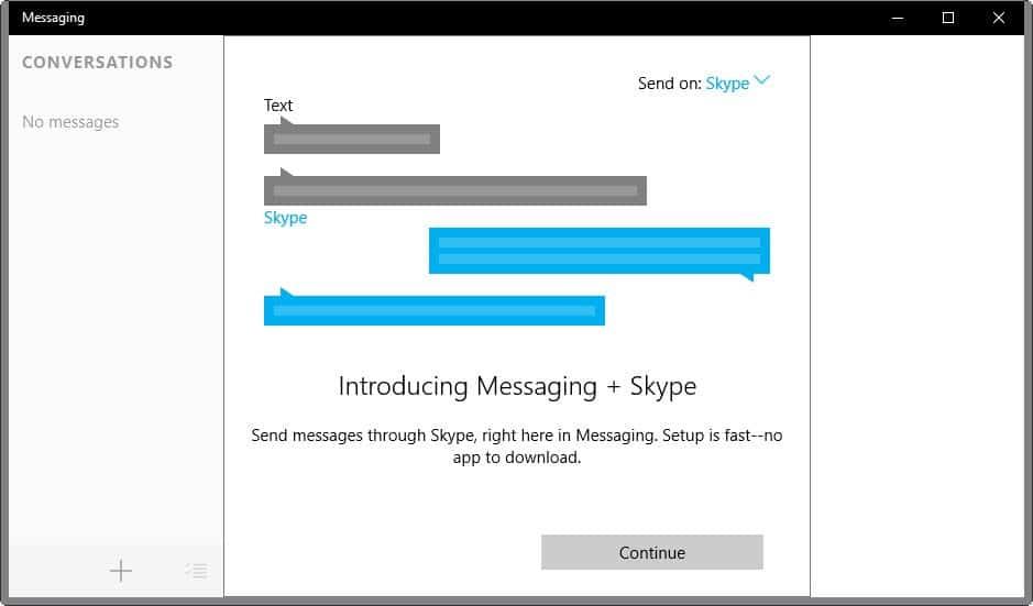 messaging+skype