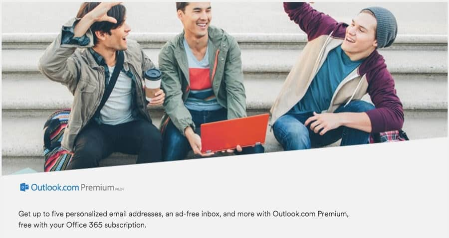 Here is what the new Outlook.com Premium entails