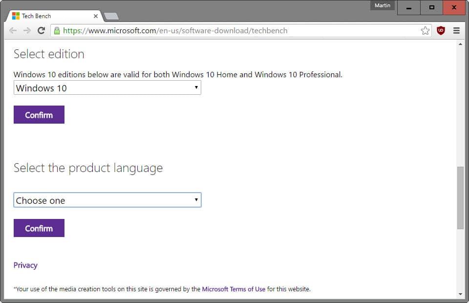 product language