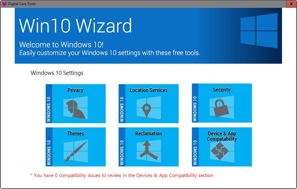 Win10 Wizard is a Windows 10 Upgrade Assistant - gHacks Tech News