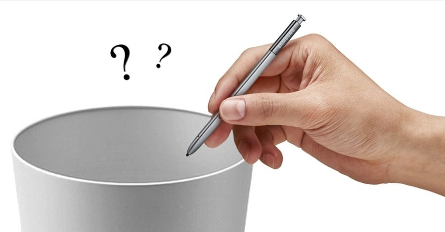 Is Samsung giving up on the S-pen
