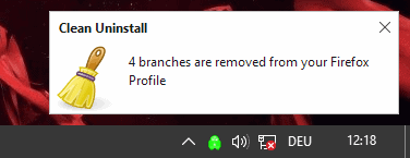 clean uninstall remove