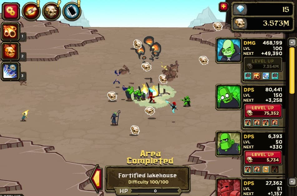 idle game