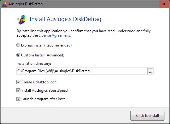 install program