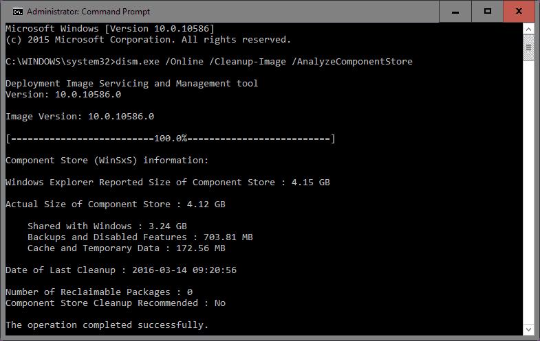 winsxs folder analyze