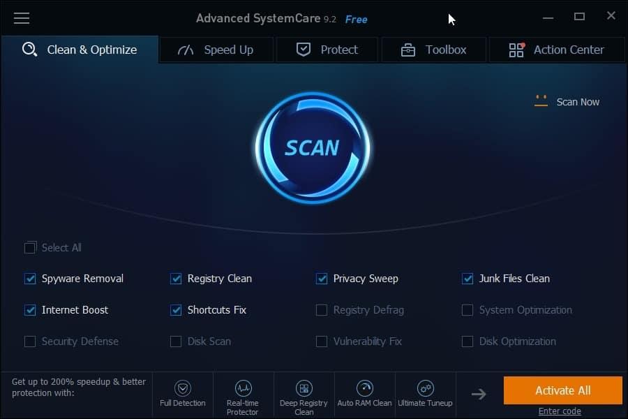 advanced systemcare 11.3 pro key