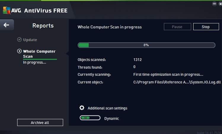 avg antivirus free scan