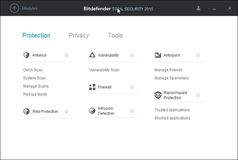bitdefender total security 2016 protection