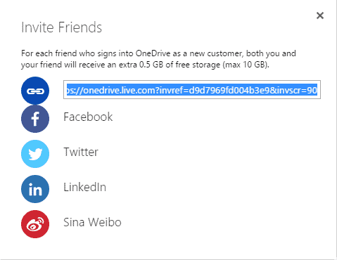 onedrive referral