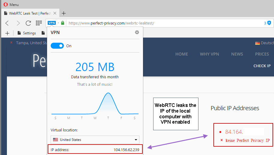A closer look at Opera's Browser VPN