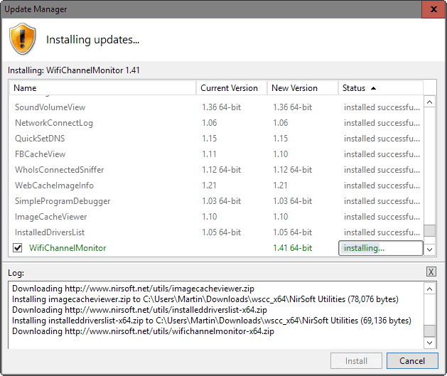 wscc 3 update manager