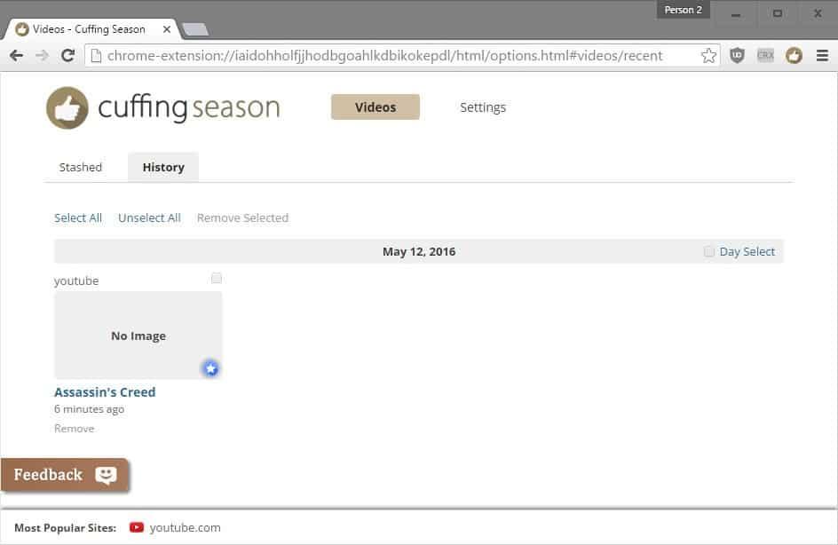 cuffing season privacy