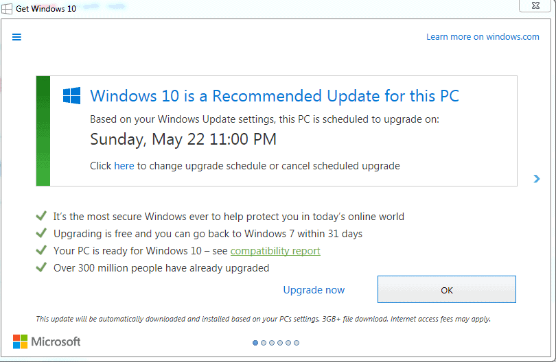 Better check your Windows 7 PC for Get Windows 10 (GWX) traces