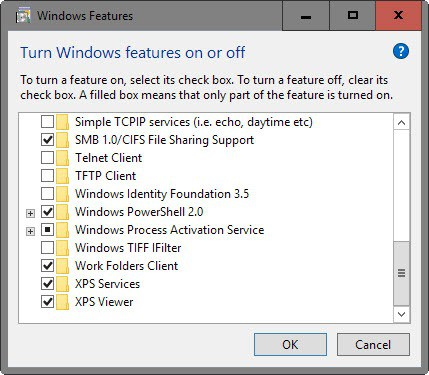turn off xps services viewer