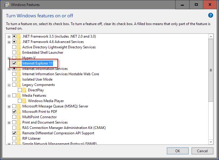 Turn off Windows 10 Features - gHacks Tech News